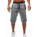 povoljno Sportske hlače-Muškarci Osnovni Dnevno Sportske hlače / Kratke hlače Hlače - Jednobojni Crn Tamno siva Svijetlosiva L XL XXL