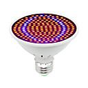 ieftine Senzori-1 buc 30 W Culoarea becului crescând 1600 lm E26 / E27 200 LED-uri de margele SMD 5730 Decorativ Roșu Albastru 85-265 V / 1 bc / RoHs / FCC