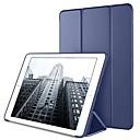 رخيصةأون أغطية أيباد-غطاء من أجل Apple ايباد ميني 5 / iPad New Air (2019) / iPad Mini 3/2/1 مع حامل / أورجامي / مغناطيس غطاء كامل للجسم لون سادة قاسي جلد PU