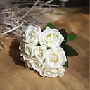 povoljno Umjetno cvijeće-Umjetna Cvijeće 9 Podružnica Zabava Vjenčanje Roses Vječni cvjetovi Cvjeće za stol
