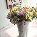 رخيصةأون قلادات-زهور اصطناعية 1 فرع أسلوب بسيط الحديث نباتات الزهور الخالدة أزهار الطاولة