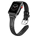 voordelige Apple Watch-bandjes-Horlogeband voor Apple Watch Series 5/4/3/2/1 Apple Moderne gesp Echt leer Polsband