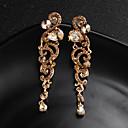 ieftine Cercei-Pentru femei Cercei Stud Floare European Modă cercei Bijuterii Auriu / Argintiu Pentru Nuntă Zilnic 1 Pair