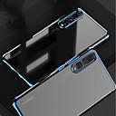 povoljno Torbice / maske za Huawei P seriju-Θήκη Za Huawei MediaPad Huawei P20 / Huawei P20 Pro / Huawei P20 lite Pozlata / Prozirno Stražnja maska Jednobojni Mekano TPU