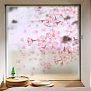 ieftine Tratamente de Fereastră-Fereastră de film și autocolante Decor mată / Contemporan Flori PVC Autocolant Geam / Mat