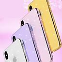 رخيصةأون أساور ساعات FitBit-غطاء من أجل Apple iPhone X / iPhone 8 Plus / iPhone 8 حجر كريم / بريق لماع غطاء خلفي نموذج هندسي / بريق لماع ناعم TPU