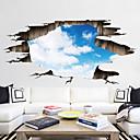 رخيصةأون ملصقات ديكور-لواصق حائط مزخرفة / ملصقات الكلمة - لواصق مناظر طبيعية / 3D غرفة الجلوس / غرفة النوم / دورة المياه