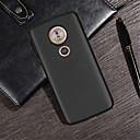 رخيصةأون Motorola أغطية / كفرات-غطاء من أجل موتورولا MOTO G6 / Moto G6 Play / Moto G6 Plus مطرز غطاء خلفي لون سادة ناعم TPU