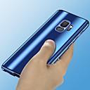 voordelige Galaxy S-serie hoesjes / covers-hoesje Voor Samsung Galaxy S9 / S9 Plus / S8 Plus Beplating / Spiegel Volledig hoesje Effen Hard PC