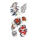 ieftine Tatuaje Temporare-1 pcs Acțibilde de Tatuaj Tatuaje temporare Serie de Animale Arta corpului mâini / braț / carp