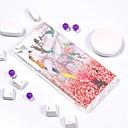 رخيصةأون Sony أغطية / كفرات-غطاء من أجل Sony Xperia L2 / Sony Xperia L1 تصفيح / IMD / نموذج غطاء خلفي حجر كريم ناعم TPU