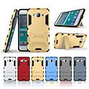 رخيصةأون حافظات / جرابات هواتف جالكسي S-غطاء من أجل Samsung Galaxy J2 Prime مع حامل غطاء خلفي لون سادة قاسي الكمبيوتر الشخصي
