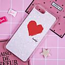 رخيصةأون أغطية أيفون-غطاء من أجل Apple iPhone X / iPhone 8 Plus / iPhone 8 نموذج غطاء خلفي قلب / كارتون ناعم TPU