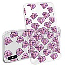 رخيصةأون أغطية أيفون-غطاء من أجل Apple iPhone X / iPhone 8 Plus / iPhone 8 نموذج غطاء خلفي كارتون ناعم TPU