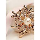 povoljno Broševi-Žene Broševi Moda Elegantno Broš Jewelry Zlato / Pink Za Vjenčanje Party