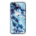 رخيصةأون أغطية أيفون-غطاء من أجل Apple iPhone X / iPhone 8 Plus / iPhone 8 مرآة / نموذج غطاء خلفي حجر كريم قاسي TPU / زجاج مقوى