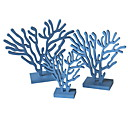 povoljno Drveni ukrasi-Kućne dekoracije, Drvo Mediterranean za Kućna dekoracija Darovi 3pcs