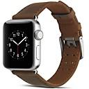 voordelige Apple Watch-bandjes-Horlogeband voor Apple Watch Series 5/4/3/2/1 Apple Moderne gesp Echt leer Polsband