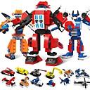 رخيصةأون أدوات الفرن-أحجار البناء مجموعة ألعاب البناء ألعاب تربوية 1173 pcs سيارات إنسان آلي متوافق Legoing التحويلية التوتر والقلق الإغاثة يخفف أد، أدهد، والقلق والتوحد للصبيان للفتيات ألعاب هدية