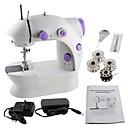 رخيصةأون أدوات مهنية-من السهل آلة الخياطة ، مصغرة آلة الخياطة المنزلية الكهربائية خفيفة الوزن اليدوية مع دواسة القدم الخفيفة