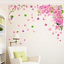 رخيصةأون أقراط-لواصق حائط مزخرفة - لواصق حائط الطائرة الأزهار / النباتية غرفة الجلوس / غرفة النوم / دورة المياه