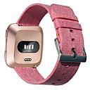 رخيصةأون سماعات الهاتف والأعمال-حزام إلى Fitbit Versa فيتبيت بكلة كلاسيكية القماش / نايلون شريط المعصم