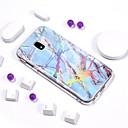 billige Etuier / covers til Galaxy S-modellerne-Etui Til Samsung Galaxy J7 (2017) / J7 (2016) / J7 Belægning / IMD / Mønster Bagcover Marmor Blødt TPU