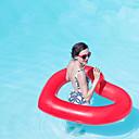 رخيصةأون مساعدات السباحة-Heart Shape فواشات للمسبح PVC مضاعف قابل للاشتعال سباحة الرياضات المائية إلى بالغين 110*90 cm