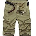 povoljno Muški džemperi i kardigani-Muškarci Osnovni Dnevno Kratke hlače Hlače - Geometrijski oblici Vojska Green Žutomrk Navy Plava 38 35 42