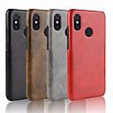 povoljno Maske/futrole za Xiaomi-Θήκη Za Xiaomi Xiaomi Mi Mix 2S / Xiaomi Mi 8 / Xiaomi Mi 6X(Mi A2) Reljefni uzorak Stražnja maska Jednobojni Tvrdo PU koža