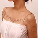 ieftine Bijuterii de Corp-Pentru femei Bijuterii de corp 68 cm Braț Manșetă / Colier de umăr Auriu / Argintiu femei / Stilat / La modă Ștras Costum de bijuterii Pentru Stradă / Bikini / Costume Cosplay Vară