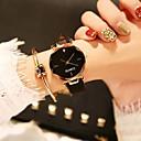 ieftine Colier la Modă-Pentru femei Ceas Elegant Ceas de Mână Quartz Piele Negru / Maro / Verde 30 m Model nou Ceas Casual Adorabil Analog femei Casual Modă - Rosu Verde Roz Un an Durată de Viaţă Baterie / Oțel inoxidabil