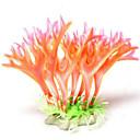 ieftine Module-Acvariu Decorațiune pentru Acvariu Waterproof Ornamente Coral meduză Roz Impermeabil Lavabil Plastice 1 19*10 cm