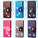 povoljno Maske/futrole za Galaxy S seriju-Θήκη Za Samsung Galaxy S7 edge / S7 / S5 Mini Novčanik / Utor za kartice / Štras Korice Jednobojni / Cvijet Tvrdo PU koža