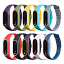 voordelige Horlogebandjes voor Xiaomi-Horlogeband voor Mi Band 2 Xiaomi Sportband Silicone Polsband