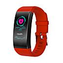 رخيصةأون الأساور الذكية-الرجال qw18 smartwatch الروبوت ios بلوتوث للماء القلب رصد معدل ضغط الدم قياس شاشة اللمس حرق السعرات الخطى دعوة تذكير نشاط المقتفي النوم المقتفي المستقرة
