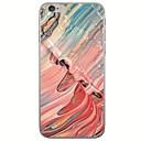 رخيصةأون أغطية أيفون-غطاء من أجل Apple iPhone X / iPhone 8 Plus / iPhone 8 نحيف جداً / نموذج غطاء خلفي منظر / رسم زيتي ناعم TPU