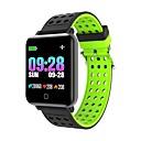 abordables Pulseras inteligentes-m19 reloj inteligente bluetooth fitness tracker notificación de soporte / monitor de frecuencia cardíaca deportes reloj inteligente a prueba de agua compatible con teléfonos iphone / samsung / android