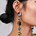 povoljno Naušnice-Žene Viseće naušnice Long blažen dame Vintage Boemski stil Korejski Naušnice Jewelry Plava / Pink / Crno-bijeli Za Zabava / večer Formalan 1 par