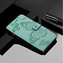 رخيصةأون حافظات / جرابات هواتف جالكسي J-غطاء من أجل Samsung Galaxy J7 Duo / J7 (2017) / J6 محفظة / حامل البطاقات / مع حامل غطاء كامل للجسم فراشة قاسي جلد PU
