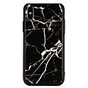 رخيصةأون أغطية أيفون-غطاء من أجل Apple iPhone X / iPhone 8 Plus / iPhone 8 تصفيح غطاء خلفي حجر كريم قاسي زجاج مقوى