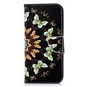 رخيصةأون Huawei أغطية / كفرات-غطاء من أجل Samsung Galaxy S9 / S9 Plus / S8 Plus محفظة / حامل البطاقات / مع حامل غطاء كامل للجسم فراشة قاسي جلد PU
