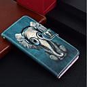 رخيصةأون حافظات / جرابات هواتف جالكسي J-غطاء من أجل Samsung Galaxy J7 (2017) / J5 (2017) / J3 (2017) محفظة / حامل البطاقات / مع حامل غطاء كامل للجسم فيل قاسي جلد PU