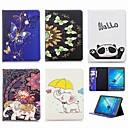 ieftine Organizatoare Birou-Maska Pentru Samsung Galaxy Tab S2 9.7 Portofel / Titluar Card / Cu Stand Carcasă Telefon Elefant Greu PU piele