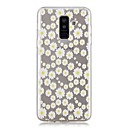 voordelige Galaxy A8 Hoesjes / covers-hoesje Voor Samsung Galaxy A6 (2018) / A6+ (2018) / A3 (2017) Transparant / Patroon Achterkant Bloem Zacht TPU