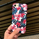 voordelige iPhone 5c hoesjes-hoesje Voor Apple iPhone XS / iPhone XR / iPhone XS Max Mat / Patroon Achterkant Bloem Hard PC