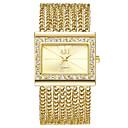 ieftine USB Flash Drives-ASJ Pentru femei Ceas Elegant Ceas Brățară Diamond Watch Japoneză Quartz Japonez Cupru Argint / Auriu Ceas Casual Analog femei Lux Vintage - Auriu Argintiu Un an Durată de Viaţă Baterie / SSUO AG4