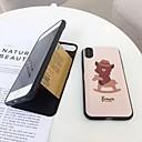 رخيصةأون أغطية أيفون-غطاء من أجل Apple iPhone X / iPhone 8 Plus / iPhone 8 حامل البطاقات / قلب غطاء خلفي حيوان قاسي TPU