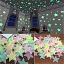 cheap Decoration Stickers-Light Switch Stickers - Plane Wall Stickers / Luminous Wall Stickers Halloween Decorations / Holiday Indoor / Kids Room
