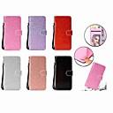 رخيصةأون Nokia أغطية / كفرات-غطاء من أجل Samsung Galaxy S9 / S9 Plus محفظة / حامل البطاقات / مع حامل غطاء كامل للجسم بريق لماع قاسي جلد PU